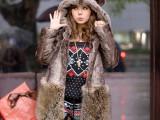特价韩版仿毛皮草外套毛毛耳朵连帽外套大衣中长款冬季女装皮草