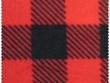 厂家供应格子印花摇粒绒 100%涤纶针织服装面料