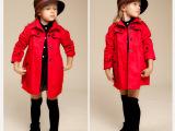女童风衣外套专柜同款英伦风外贸童装厂家热销一件代发中大童