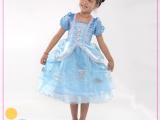 现货Cinderella迪 尼灰姑娘公主裙子 万圣节服装儿童公主