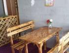 厂家直销:火焰鹅餐厅桌椅,醉鹅餐厅桌椅,农庄桌椅,各类尺寸
