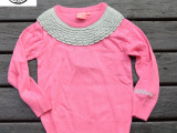 秋冬欧美童装批发 儿童针织羊毛衫 童装baby长袖打底衫毛衣代发
