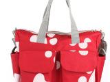 新款送尿布垫超大容量单肩时尚妈咪包妈妈包手提包