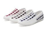 新款豆豆鞋白色休闲男鞋时尚潮流男鞋驾车鞋英伦风格一件代发