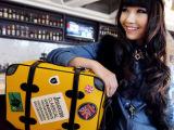 2014新款韩版电脑包国 徽包 双肩 手提包 女包批发