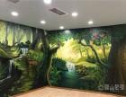 幼儿园墙绘,文化墙彩绘,各类工装家装墙绘