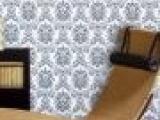 纸尚美学 欧式大马士复古欧式革墙纸ab07 37-081客厅背景
