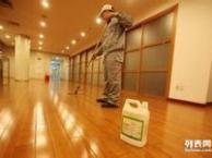 木地板打蜡与地毯清洗应做好那些方面的工作 广州洁彩清洁公司