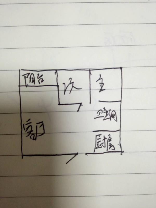 长江长一期 简装二房 花园小区 购物方便 交通便利