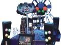 动漫城电玩设备儿童淘气堡大型游戏机厂家