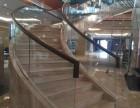 昆明弧形热弯玻璃扶手栏杆加工制作厂家