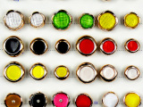 厂家直销 纺织辅料 塑料纽扣 时尚新款塑料组合纽扣 衣韵钮扣