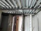 廊坊广阳区商铺挑高隔层实际制作钢结构二层搭建
