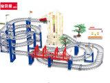 宝贝星新干线 轨道玩具车多层 托马斯火车玩具 儿童电动汽车轨道
