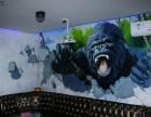 清远市墙体彩绘 清城墙画墙绘 手绘壁画