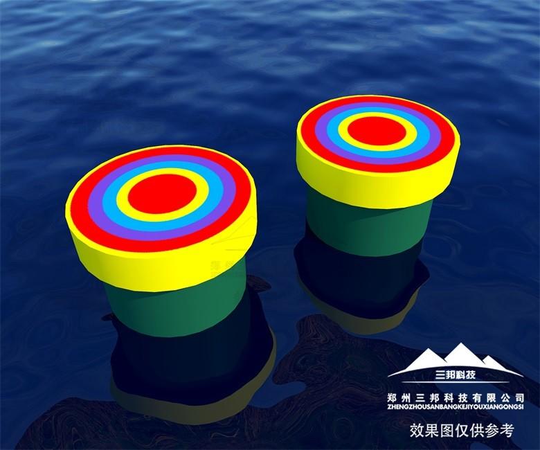 郑州三邦直供机械水上冲关设备,水上游乐项目好选择