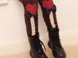 冬款童装童裤批发 女童加绒加厚打底裤靴裤 儿童打底裤加厚