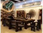 求购一套实木家具 老船木或根雕都可以