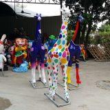 广东长颈鹿雕塑工厂定做广州玻璃钢长颈鹿