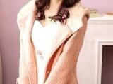 秋冬新款加厚时尚外套 女装羊毛呢子上衣