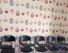 培训班课桌椅,黑板,荧光屏 转让