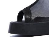 特价2014年新款网高筒凉靴粗跟时尚个性