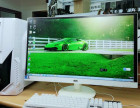 丫头低价出售高配组装机器整机玩游戏超给力27的显示器超薄