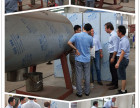 常州彬达厂家欢迎外国友人试料耙式真空干燥机