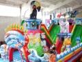 天蕊游乐厂家直销充气城堡充气滑梯儿童游乐设备大型充气玩具