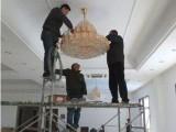 园区胜浦专业水晶灯清洗吊灯清洗大型工程灯清洗