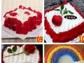送女朋友鲜花买花玫瑰七夕情人节开业乔迁花篮烟台蛋糕