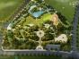 建筑动画 海口园林规划 三维渲染图 效果图 城市鸟瞰图
