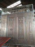 供应西安大铁门门板压花机 防盗门压花机 液压机
