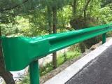 热镀锌波形双护栏板厂家直销喷塑两波三波防护栏板撞挡车栏
