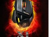 搏展X1鬼斧变形金刚lol发光变速游戏鼠标笔记本有线USB鼠标博展cf