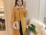 30块女装全新热销韩版棉服 中长款女羽绒棉服 可到付