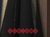 薄纱天丝30D雪纺纱布料 婚纱礼服面料黑