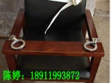 磁力锁软包审讯椅,木质软包审讯椅