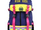 潮品 新款品牌背包 韩版双肩大容量民族元素男女背包 品质包包
