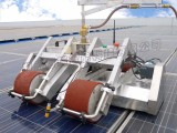 国内光伏电站清洁机器人,光伏组件怎么清洗