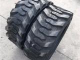 山猫滑移装载机轮胎12-16.5扫路机轮胎人字轮式挖