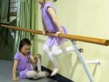 儿童专业练习把杆 固定式舞蹈压腿杆尺寸