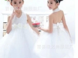 2014新款花童礼服 儿童婚纱 儿童礼服公主裙 女童主持表演礼服