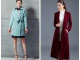 白沙女双面羊绒大衣冬装品牌折扣女装羊绒大衣原单尾货货源批发