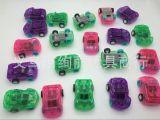 儿童 赠品小玩具糖果色迷你回力小汽车 透