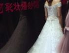 婚纱礼服出租(四件套,另外送伴娘服一套)