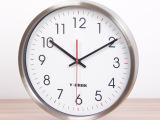 伊优诺克时尚简约钟表创意时钟欧式客厅静音挂钟48D