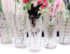 襄樊襄阳玻璃花瓶工艺品水晶精品器皿水培鱼缸厂家直供