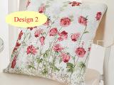 水芙蓉 床上沙发车内专用多功能纯棉抱枕被 沙发抱枕