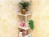 欧式铁艺浴室架 三层架 卫生间置物架